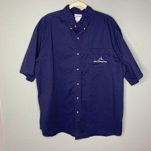 Men's Walt Disney World Button Down Shirt XL